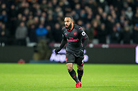 Alexandre Lacazette of Arsenal during the Premier League match between West Ham United and Arsenal at the Olympic Park, London, England on 13 December 2017. Photo by Andy Rowland.