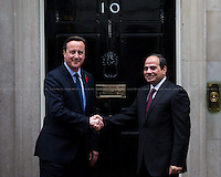 05.11.2015 - The President of Egypt Abdel Fattah el-Sisi at 10 Downing Street