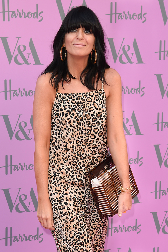 Claudia Winkleman<br /> arriving for the V&A Summer Party 2018, London<br /> <br /> ©Ash Knotek  D3410  20/06/2018