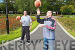 Kieran Donehy and Michea?l Quirk who for the Basketball season will be playing with Brendan's Basketball club..........