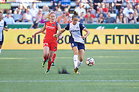Portland, OR - Saturday July 22, 2017: Tyler Lussi, Havana Solaun during a regular season National Women's Soccer League (NWSL) match between the Portland Thorns FC and the Washington Spirit at Providence Park.
