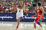 06.09.2014. Barcelona, Spain. 2014 FIBA Basketball World Cup, round of 16. Picture show S. Curry   in action during game between  Mexico v Usa  at Palau St. Jordi