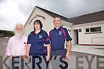 Páirc an Phiarsaigh to open new extension on Sunday at 2pm pictured here l-r; Brían Ó Ríordáin, Suzanne Ní Laoighre(Treasurer) agus Míchéal Ó Síocháin(Chairman).