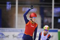 SHORTRACK: Jaap Edenbaan Amsterdam, NK Shorttrack 6-01-2013, Jorien ter Mors,©foto Martin de Jong