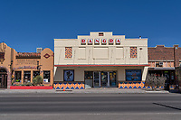 Rangra Movie Theater in Alpine Texas.