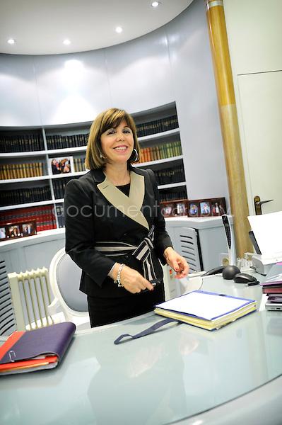 copyright: Magali Corouge/Documentography..Joelle CECCALDY RAYNAUD de?pute? maire de Puteaux...Puteaux , 01/12/09