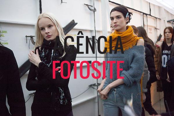 Nova Iorque, EUA &ndash; 02/2014 - Desfile de Reed Krakoff durante a Semana de moda de Nova Iorque - Inverno 2014. <br /> Foto: FOTOSITE