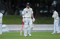 Otago's Hamish Rutherford on day one of the Plunket Shield cricket match between the Wellington Firebirds and Otago Volts at Basin Reserve in Wellington, New Zealand on Monday, 21 October 2019. Photo: Dave Lintott / lintottphoto.co.nz
