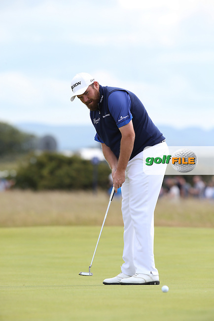 Shane Lowry (IRL) during Round Three of the 2015 Aberdeen Asset Management Scottish Open, played at Gullane Golf Club, Gullane, East Lothian, Scotland. /11/07/2015/. Picture: Golffile   David Lloyd<br /> <br /> All photos usage must carry mandatory copyright credit (&copy; Golffile   David Lloyd)