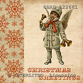 Addy, CHRISTMAS CHILDREN, paintings,+angels, vintage,++++,GBAD122661,#XK# Weihnachten, nostalgisch, Navidad, nostálgico, illustrations, pinturas