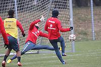 12.02.2015: Eintracht Frankfurt Training