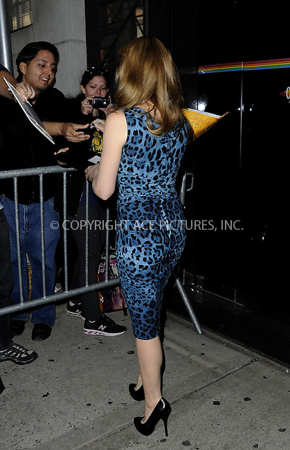 WWW.ACEPIXS.COM....October 11 2012, New York City....Singer Kylie Minogue was out visiting TV shows and events all over Manhattan on October 11 2012 in New York City....By Line: Curtis Means/ACE Pictures......ACE Pictures, Inc...tel: 646 769 0430..Email: info@acepixs.com..www.acepixs.com