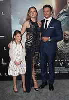 "Westwood, CA - NOVEMBER 06: Abigail Pniowsky, Amy Adams, Jeremy Renner at Premiere Of Paramount Pictures' ""Arrival"" At Regency Village Theatre, California on November 06, 2016. Credit: Faye Sadou/MediaPunch"