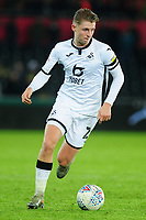 George Byers of Swansea City during the Sky Bet Championship match between Swansea City and Blackburn Rovers at the Liberty Stadium in Swansea, Wales, UK. Wednesday 11 December 2019