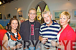 At the 'Art Splash' mid summer exhibition in The Old Oratory Cahersiveen were l-r; Fiona & Eamon Casey with Gene & Aine Young.