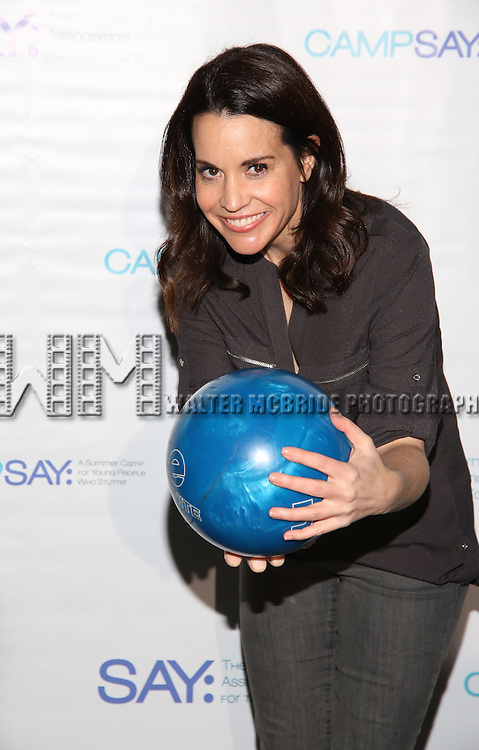 Jenna Leigh Green attends the 5th Annual Paul Rudd All-Star Bowling Benefit for (SAY) at Lucky Strike Lanes on February 13, 2017 in New York City.