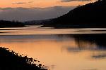 Columbia River Gorge at Sunset, Oregon
