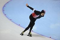 SCHAATSEN: HEERENVEEN: Thialf, 4th Masters International Speed Skating Sprint Games, 25-02-2012, Sergey Shkliaev (M70) 3rd, ©foto: Martin de Jong