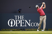 Russell Knox (SCO) during a practice round ahead of the 148th Open Championship, Royal Portrush Golf Club, Portrush, Antrim, Northern Ireland. 16/07/2019.<br /> Picture David Lloyd / Golffile.ie<br /> <br /> All photo usage must carry mandatory copyright credit (© Golffile | David Lloyd)
