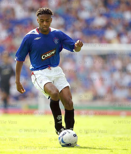 Makhtar N'Diaye, Rangers.stock season 2006-2007.pic willie vass