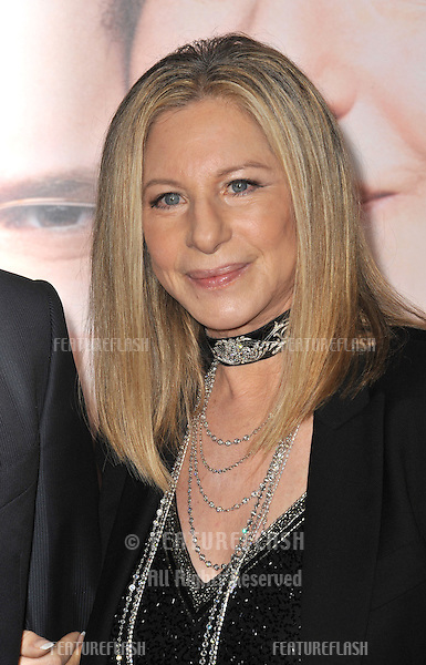 "Barbra Streisand at the Los Angeles premiere of her movie ""Guilt Trip"" at the Regency Village Theatre, Westwood..December 11, 2012  Los Angeles, CA.Picture: Paul Smith / Featureflash"