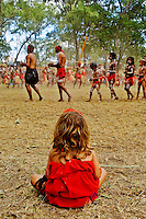 Western Yalanji Dancers 2,  Laura Aboriginal Dance Festival, Laura, Cape York Peninsula, Queensland, Australia.