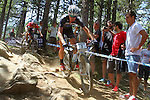 27.07.2013 La Massana, Andorra. UCI Mountain Bike World Cup. Picture show Daniel Mcconnell (AUS) in action during Cross-Country Final at Vallnord