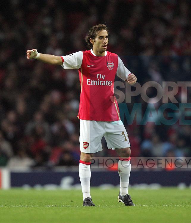 Arsenal's Mathieu Flamini