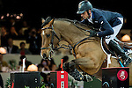 Julien Epaillard of France riding Cristallo A LM in action during the Gucci Gold Cup as part of the Longines Hong Kong Masters on 14 February 2015, at the Asia World Expo, outskirts Hong Kong, China. Photo by Johanna Frank / Power Sport Images