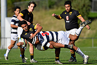 20190518 College Rugby - Wellington College v Palmerston North Boys' High School