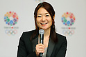 Mami Sato, <br /> September 10, 2013  : <br /> International Olympic Committee (IOC) session return home press conference <br /> in Shinjuku, Tokyo, Japan. <br /> (Photo by Daiju Kitamura/AFLO SPORT)