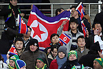 15 JUN 2010: North Korea fan. The Brazil National Team defeated the North Korea National Team 2-0 at Ellis Park Stadium in Johannesburg, South Africa in a 2010 FIFA World Cup Group G match.