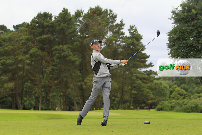 Andrew Mulhall (Waterford) during R2 of the 2016 Connacht U18 Boys Open, played at Galway Golf Club, Galway, Galway, Ireland. 06/07/2016. <br /> Picture: Thos Caffrey | Golffile<br /> <br /> All photos usage must carry mandatory copyright credit   (&copy; Golffile | Thos Caffrey)