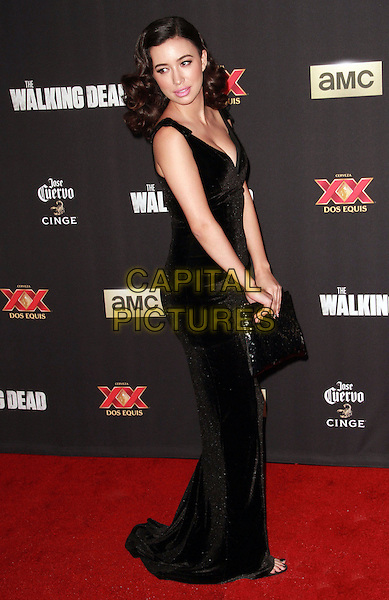 2 October 2014 - Universal City, California - Christian Serratos attend AMC celebrates the season five premiere of its hit series, &ldquo;The Walking Dead,&rdquo;  at the  AMC Universal Citywalk Stadium 19/IMAX.  <br /> CAP/ADM/TBO<br /> &copy;Theresa Bouche/AdMedia/Capital Pictures