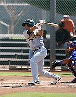 Nino Leyja / Oakland Athletics 2008 Instructional League..Photo by:  Bill Mitchell/Four Seam Images