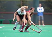 STANFORD, CA - November3, 2011: Julia LaSalvia during the Stanford vs. Appalachian State opener of  the  NorPac Championship at the Varsity Turf on the Stanford campus Thursday afternoon.<br /> <br /> Stanford defeated Appalachian State 7-0.