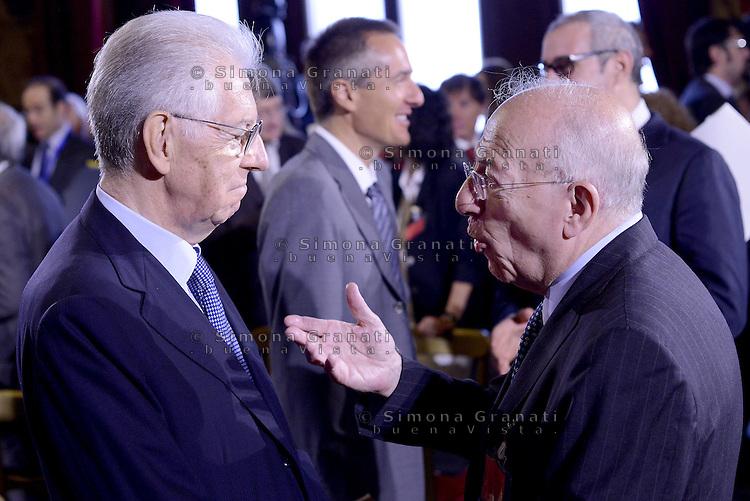 Roma, 7 Luglio 2015<br /> Camera dei Deputati<br /> Mario Monti e Fedele Confalonieri<br /> Relazione annuale dell'AGCOM<br /> Autorit&agrave; per le garanzie nelle telecomunicazioni.