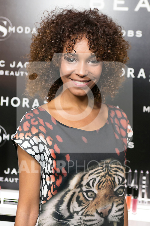Montse Pla attends the SMODA Magazine and SEPHORA new Marc Jacobs Make up collection presentation at Sephora Shop in Madrid, Spain. October 6, 2014. (ALTERPHOTOS/Carlos Dafonte)