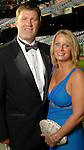 Lisa and Doug Brocail at the Astros Wives Gala at Minute Maid Park Thursday Aug. 06, 2009.(Dave Rossman/For the Chronicle)