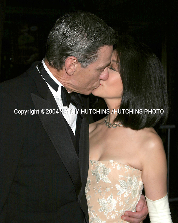 ©2004 KATHY HUTCHINS /HUTCHINS PHOTO.DAYTIME EMMYS.NEW YORK CITY, NY.MAY 21, 2004..MAUREY POVICH.CONNIE CHUNG