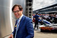 May 28, 2017; Indianapolis, IN, USA; Indianapolis Motor Speedway track president Doug Boles during the 101st Running of the Indianapolis 500. Mandatory Credit: Mark J. Rebilas-USA TODAY Sports
