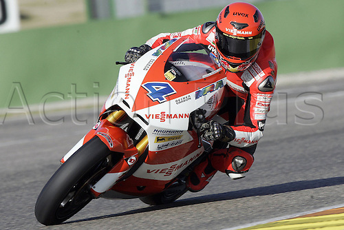 01/03/2010 Ricardo Tormo Circuit Valencia ESP MotoGP Stefan Bradl riding for the Viessman team. Photo: Imago/Actionplus. Editorial Use UK.