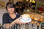 THE PERFECT COFFEE: Cherie Baker who works in The Daily Grind in The Mall, Tralee will be taking part in the  Java Republic All Ireland Coffee Making Championships.