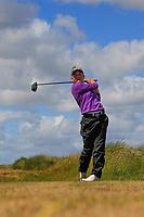 Sara Byrne (Douglas) during the 1st round of the Irish Women's Open Stroke Play Championship, Enniscrone Golf Club, Enniscrone, Co. Sligo. Ireland. 16/06/2018.<br /> Picture: Golffile | Fran Caffrey<br /> <br /> <br /> All photo usage must carry mandatory copyright credit (© Golffile | Fran Caffrey)