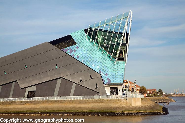 The Deep aquarium, Hull, Yorkshire, England