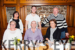 +++Reproduction Free+++<br /> Enjoying a birthday meal out was Eugene Daly from Abbeyfeale, pictured here celebrating with family and friends last Saturday night in Leen's Hotel, Abbeyfeale.
