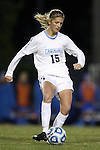 30 November 2013: North Carolina's Katie Bowen (NZL). The University of North Carolina Tar Heels played the University of California Los Angeles Bruins at Fetzer Field in Chapel Hill, North Carolina in a 2013 NCAA Division I Women's Soccer Tournament Quarterfinal match. UCLA won the game 1-0 in two overtimes.