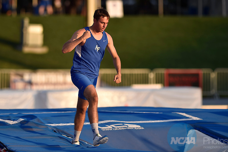 12 MAY 2016: The Mountain West Outdoor Track and Field Championship held at Veterans Memorial Stadium in Clovis, CA. Justin Tafoya/NCAA Photos