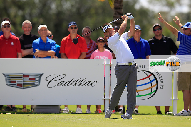 Louis Oosthuizen (RSA) during the 2nd round at the WGC Cadillac Championship, Blue Monster, Trump National Doral, Doral, Florida, USA<br /> Picture: Fran Caffrey / Golffile