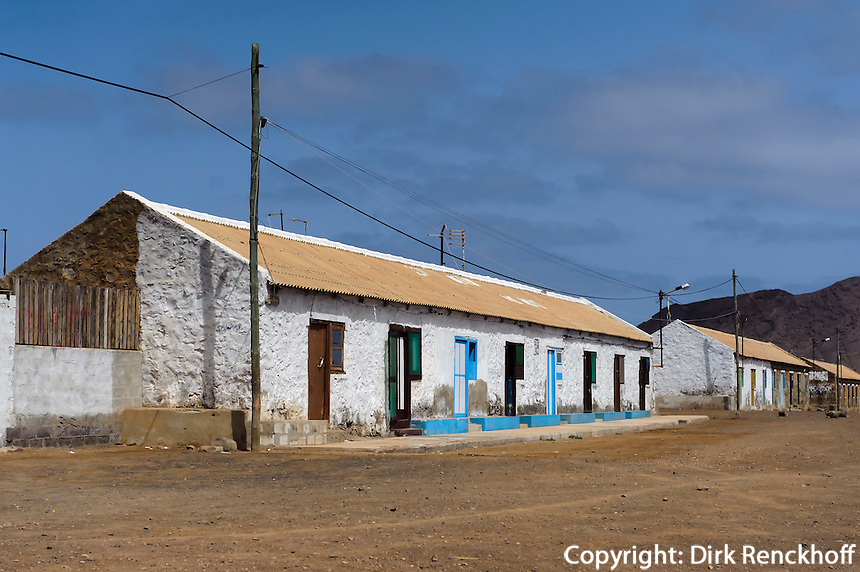Häuser in Pedra de Lume, Sal, Kapverden, Afrika